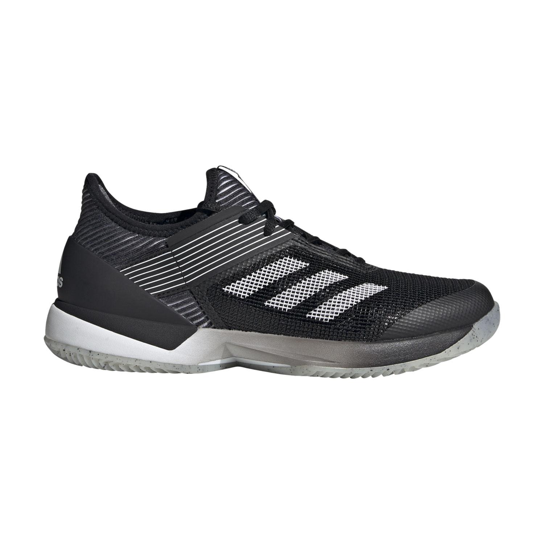 Adidas Adizero Ubersonic 3.0 Clay - Core Black/Ftwr White