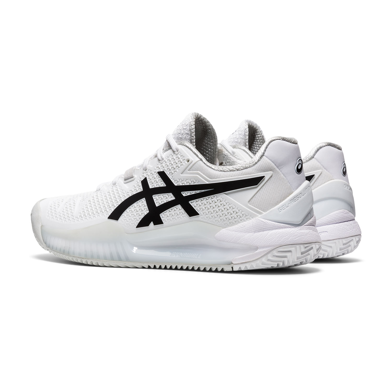 Asics Gel Resolution 8 Clay - White/Black