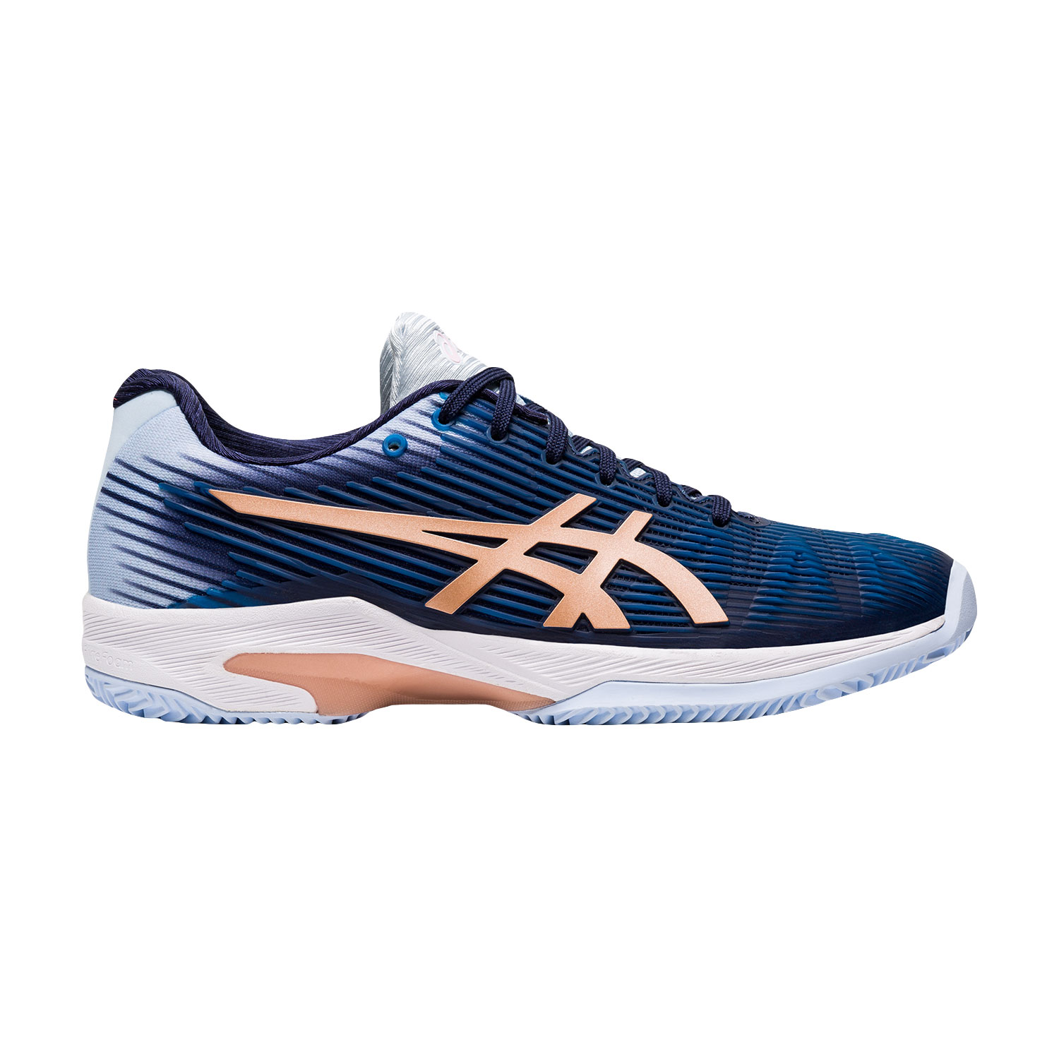 Asics Solution Speed FF Clay - Peacoat/Rose Gold