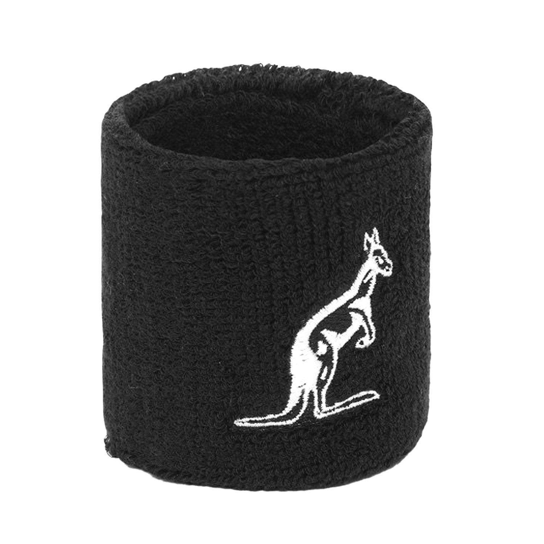 Australian Single Large Wristbands - Nero/Bianco