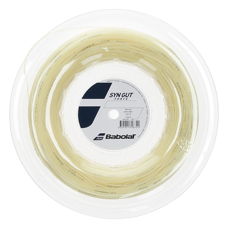 Babolat Syn Gut Force 1.30 String Reel 200 m - Natural