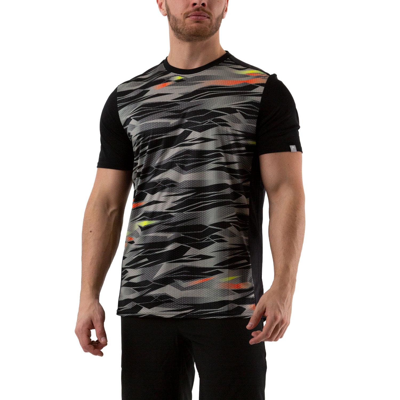 Head Slider Camiseta - Camo/Black