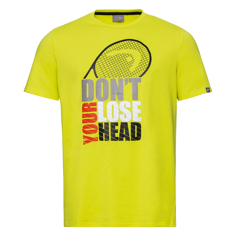 Head Return Camiseta Niño - Yellow