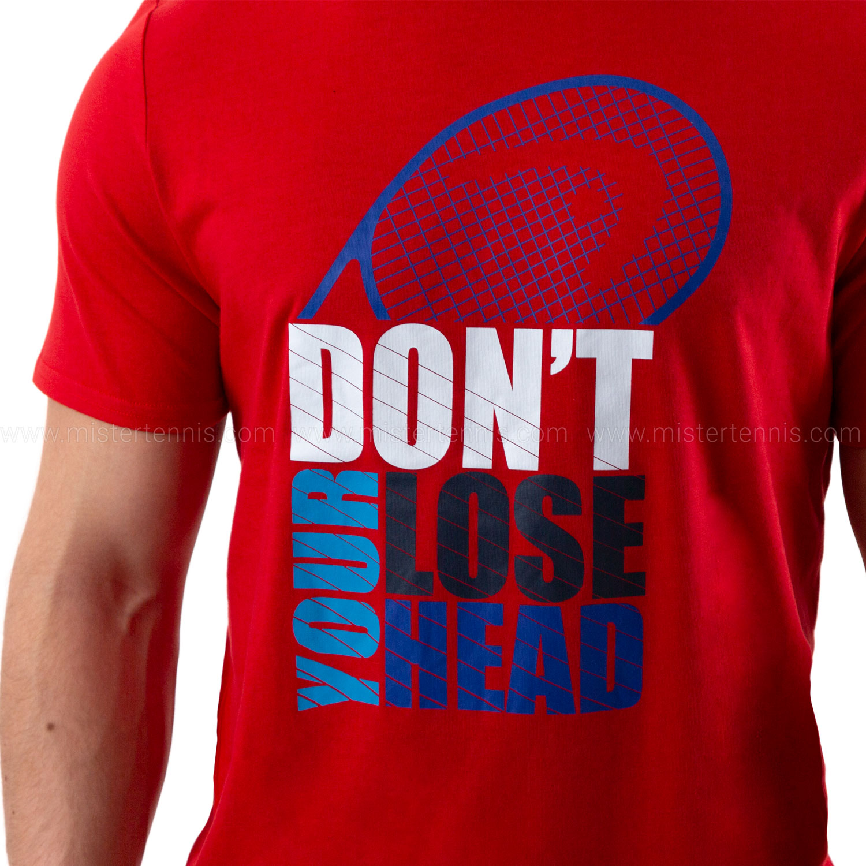 Head Return Camiseta - Red