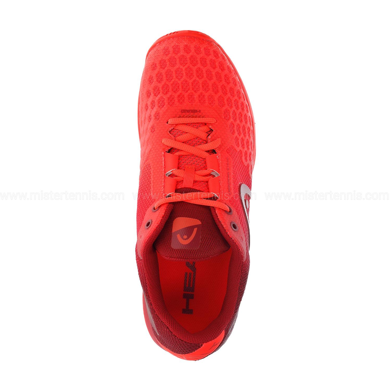 Head Revolt Pro 3.0 Clay - Neon Red/Chilli