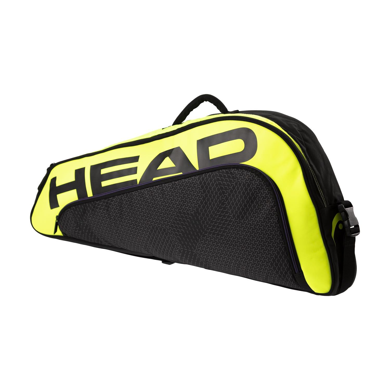 Head Tour Team Extreme x 3 Pro Bag - Black/Neon Yellow