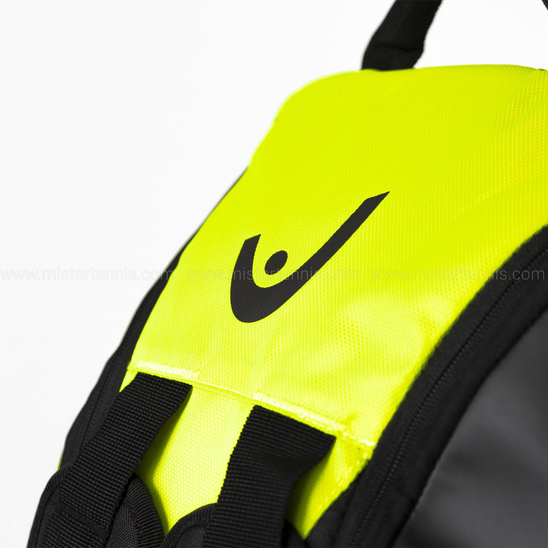 Head Tour Team Extreme x 9 Supercombi Bag - Black/Neon Yellow