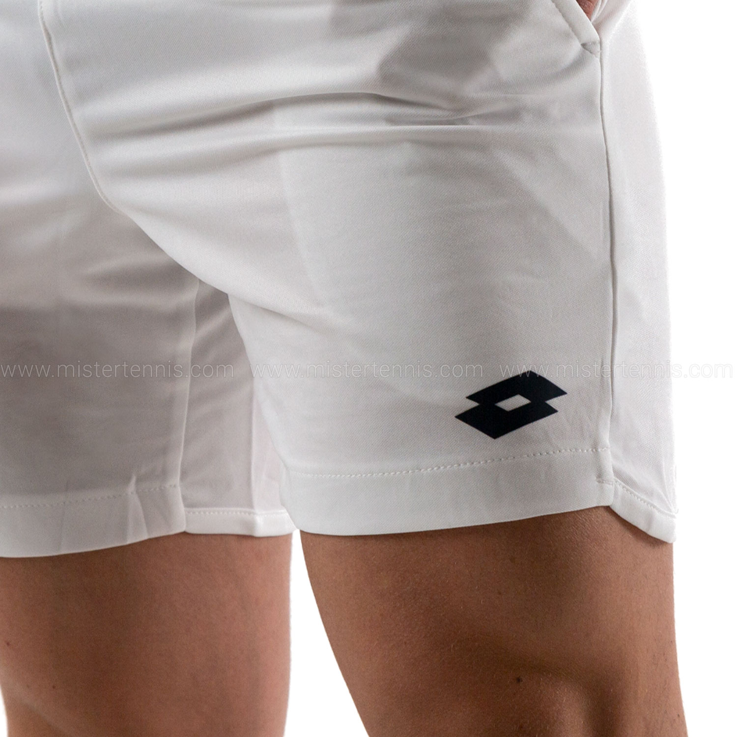 Lotto Teams 7in Shorts - White