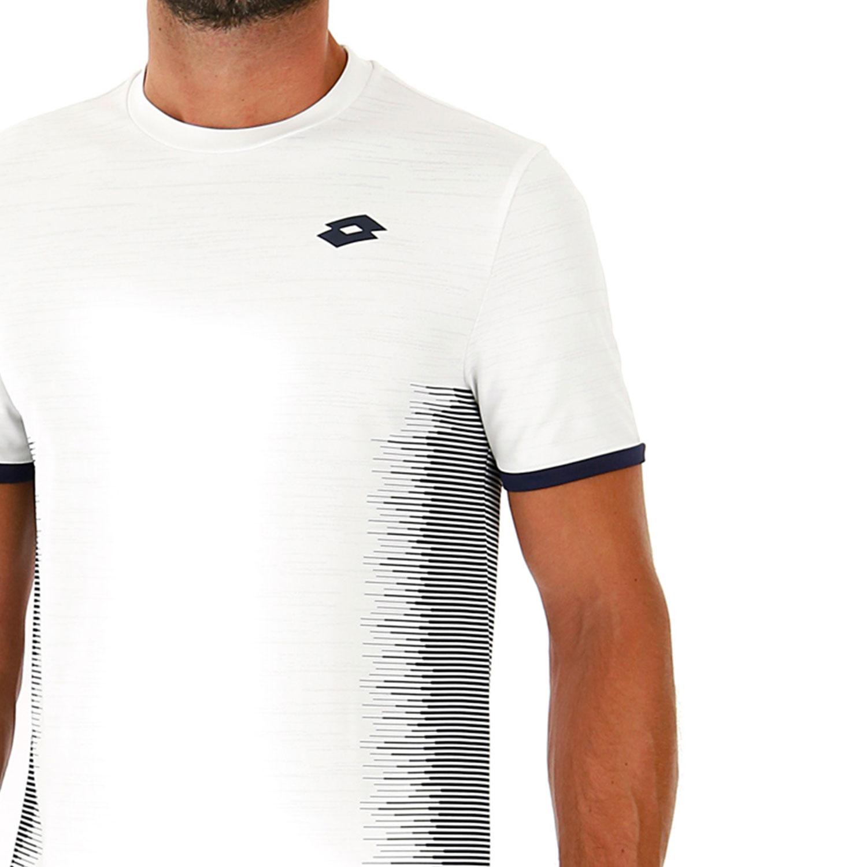 Lotto Top Ten II Camiseta - Bright White