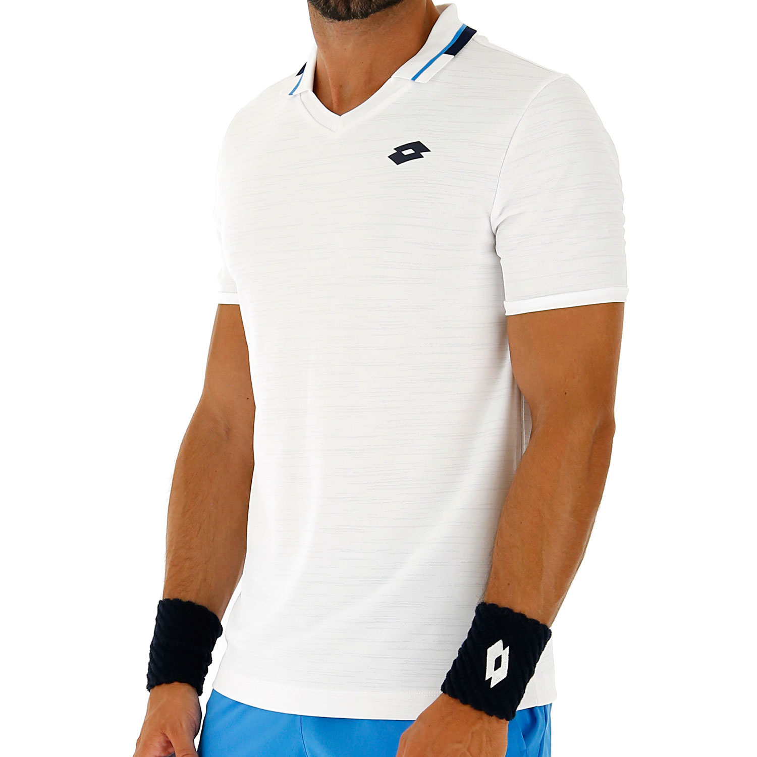 Lotto Top Ten II Polo - Bright White