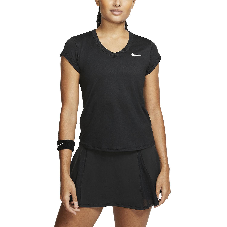 Nike Court Dri-FIT Camiseta - Black/White