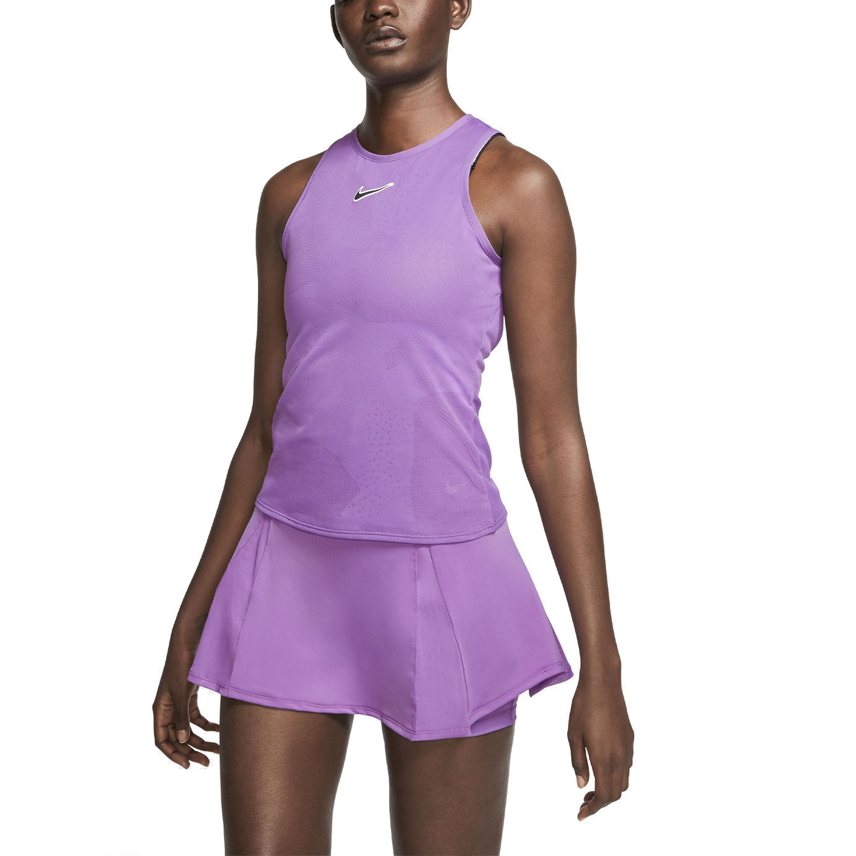 Nike Court Dry Tank - Purple Nebula/Off Noir