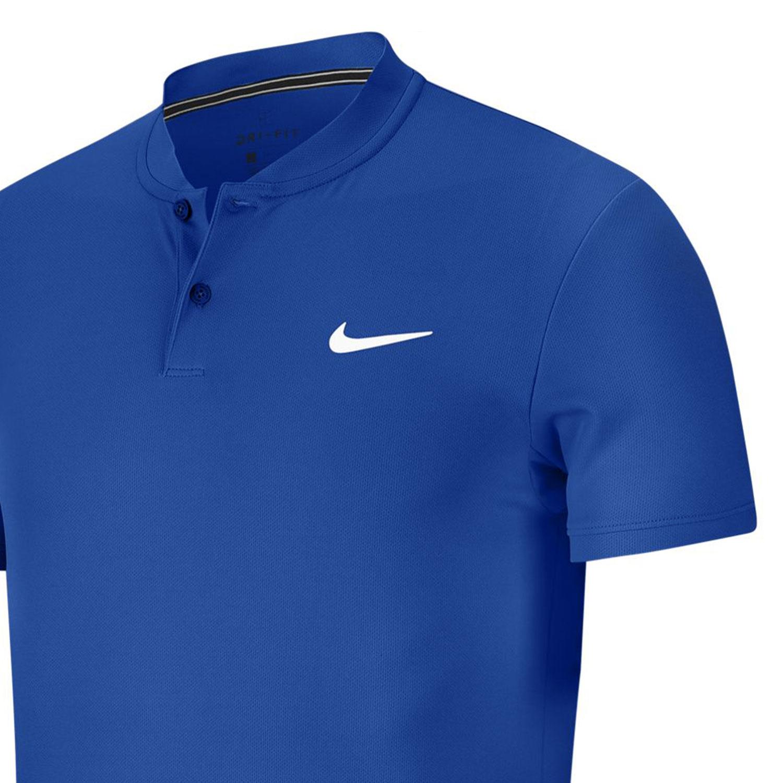 Nike Court Dry Polo - Game Royal/White