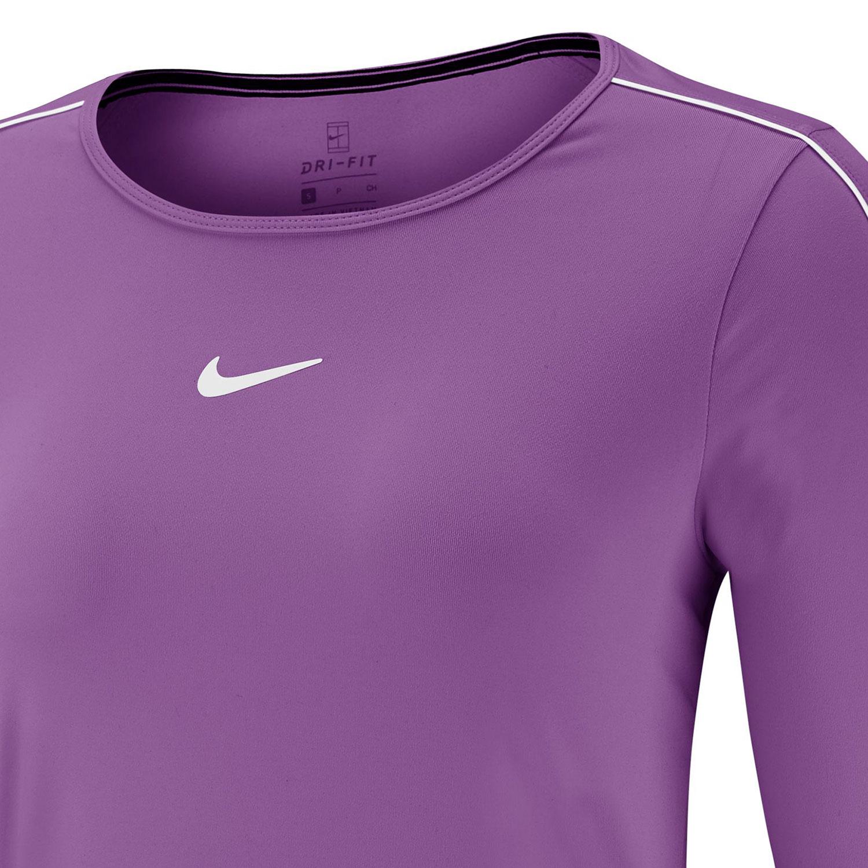Nike Court Shirt - Purple Nebula/White