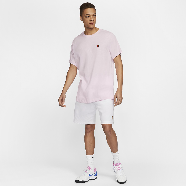 Nike Court T-Shirt - Pink Foam
