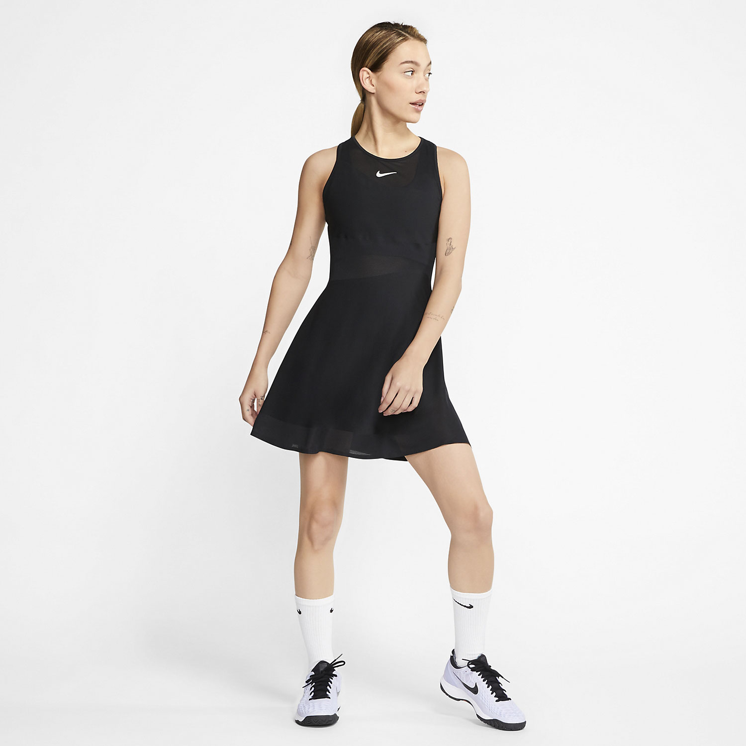 Nike Court Maria Vestido - Black/Phantom