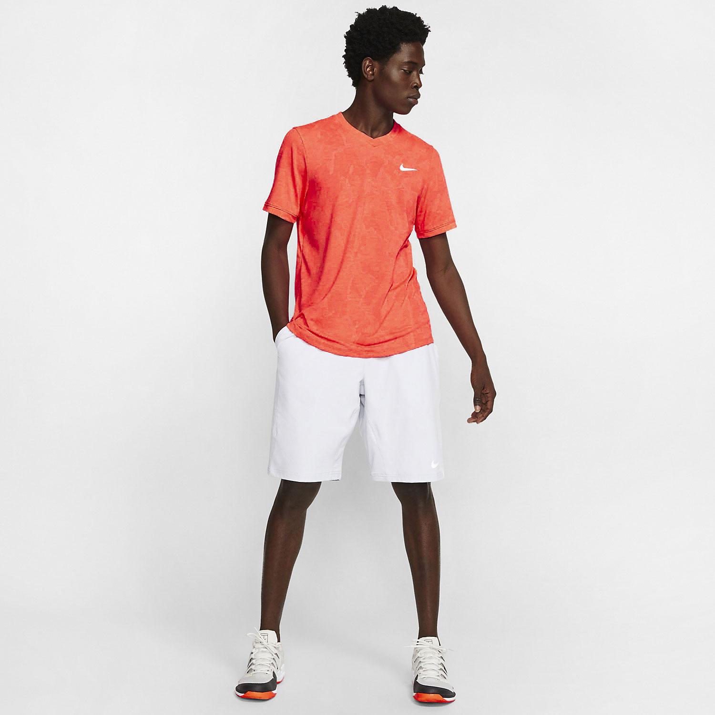 Nike Dri-FIT Challenger T-Shirt - Laser Crimson/White