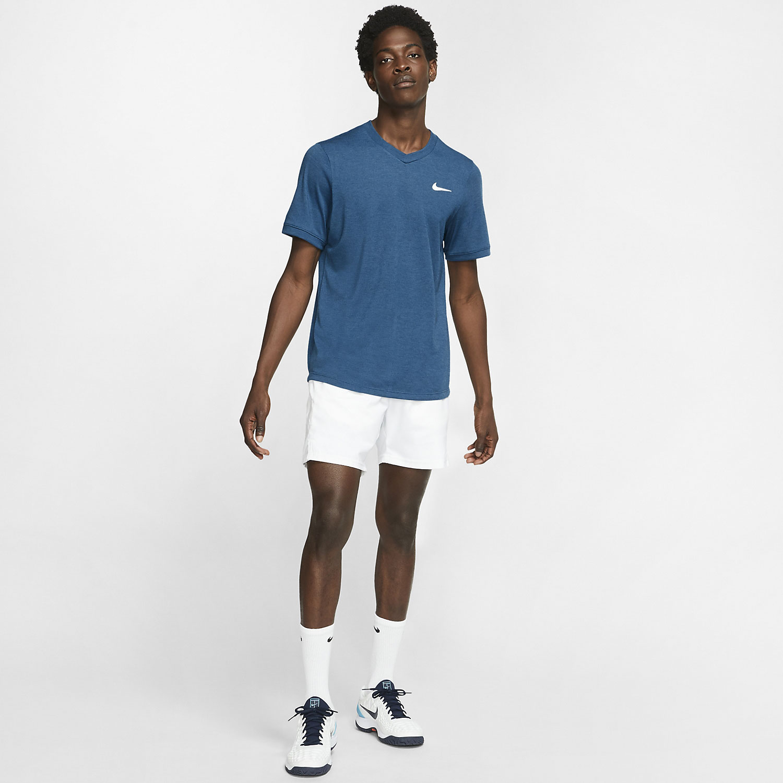 Nike Dri-FIT Challenger T-Shirt - Valerian Blue/White