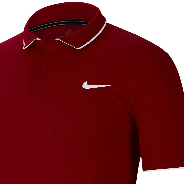 Nike Dry Team Polo - Gym Red/White
