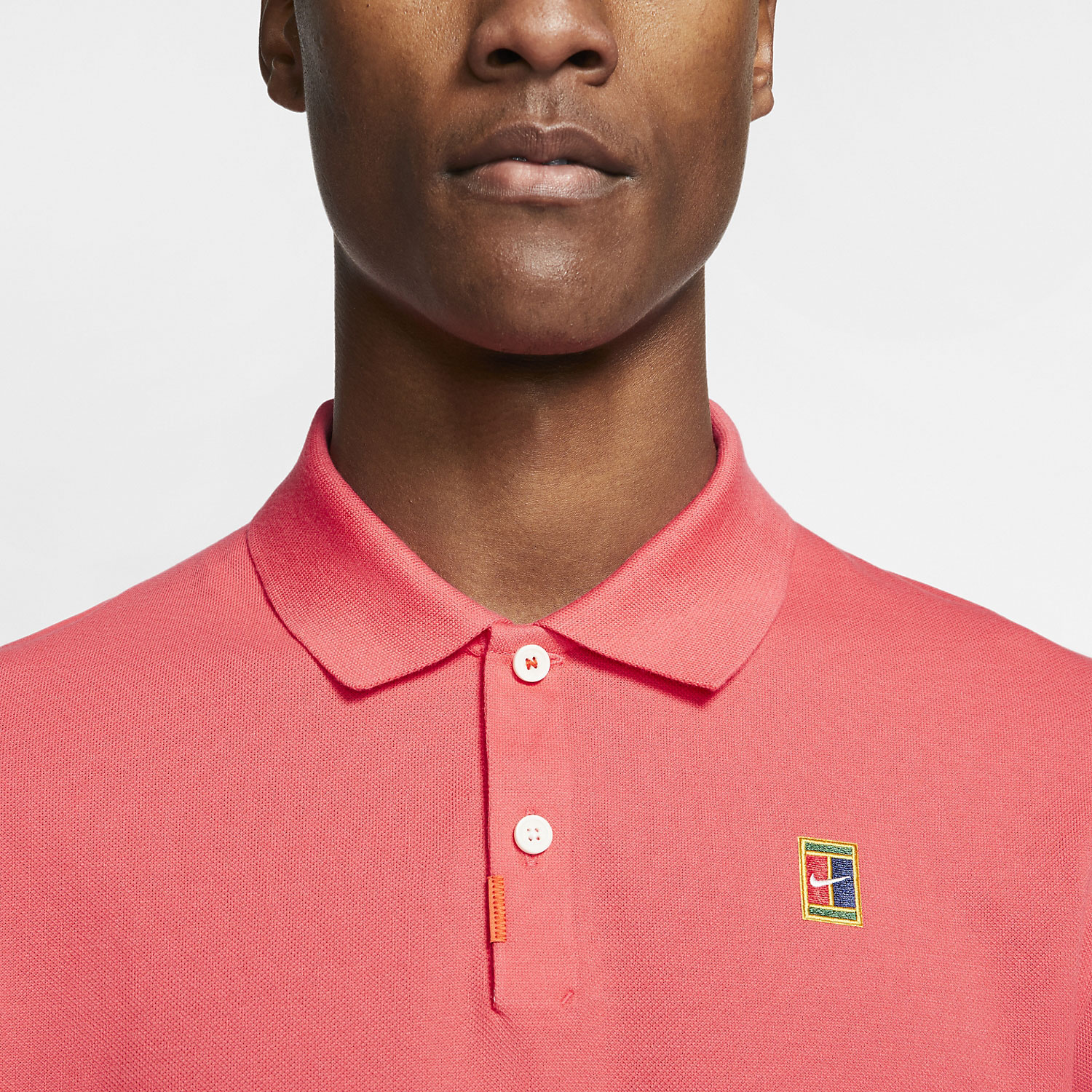 Nike Heritage Natural Polo - Ember Glow