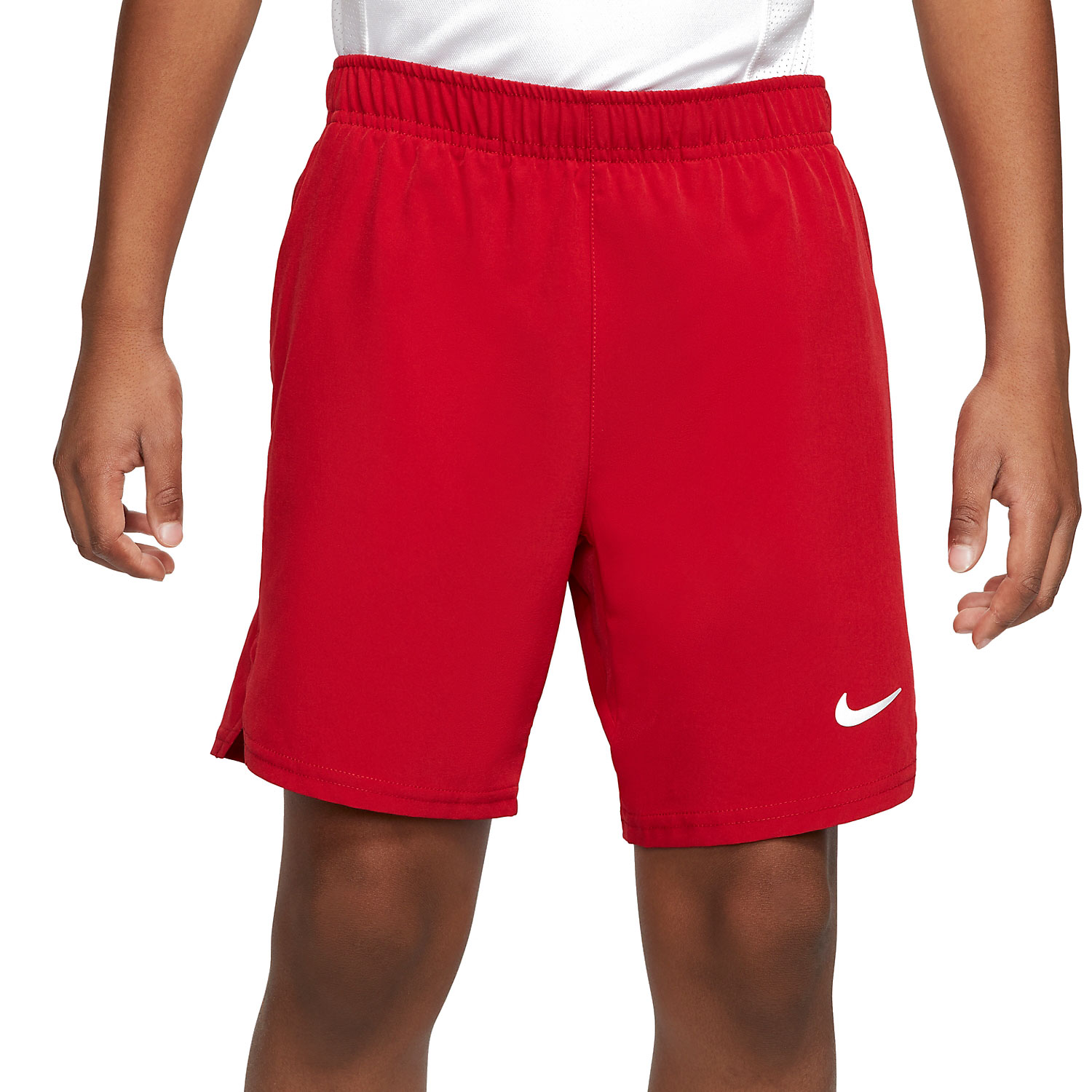 Nike Victory Flex Ace 6in Shorts Niño - Gym Red/White
