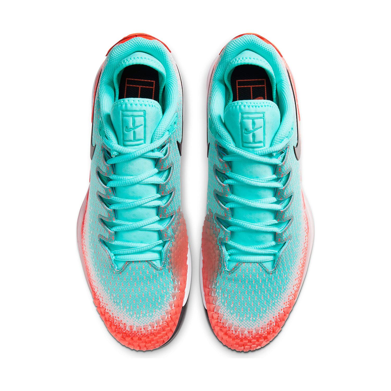 Nike Air Zoom Vapor X Knit HC - Aurora Green/Black/Hyper Crimson