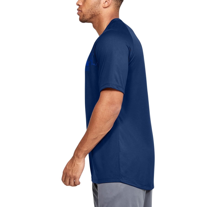 Competencia Unirse Negligencia  Under Armour Tech 2.0 Camiseta Tenis Hombre - American Blue