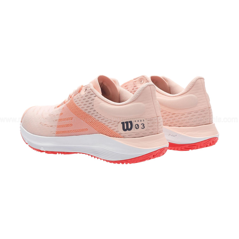 Wilson Kaos 3.0 - Tropical Peach/White/Cayenne