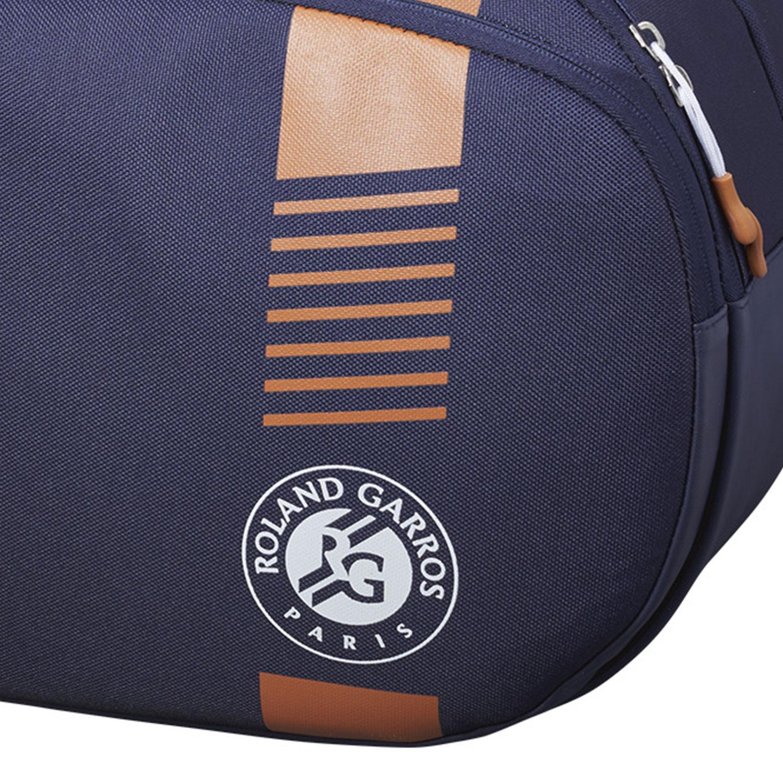 Wilson Roland Garros Team x 3 Bag - Navy/Clay