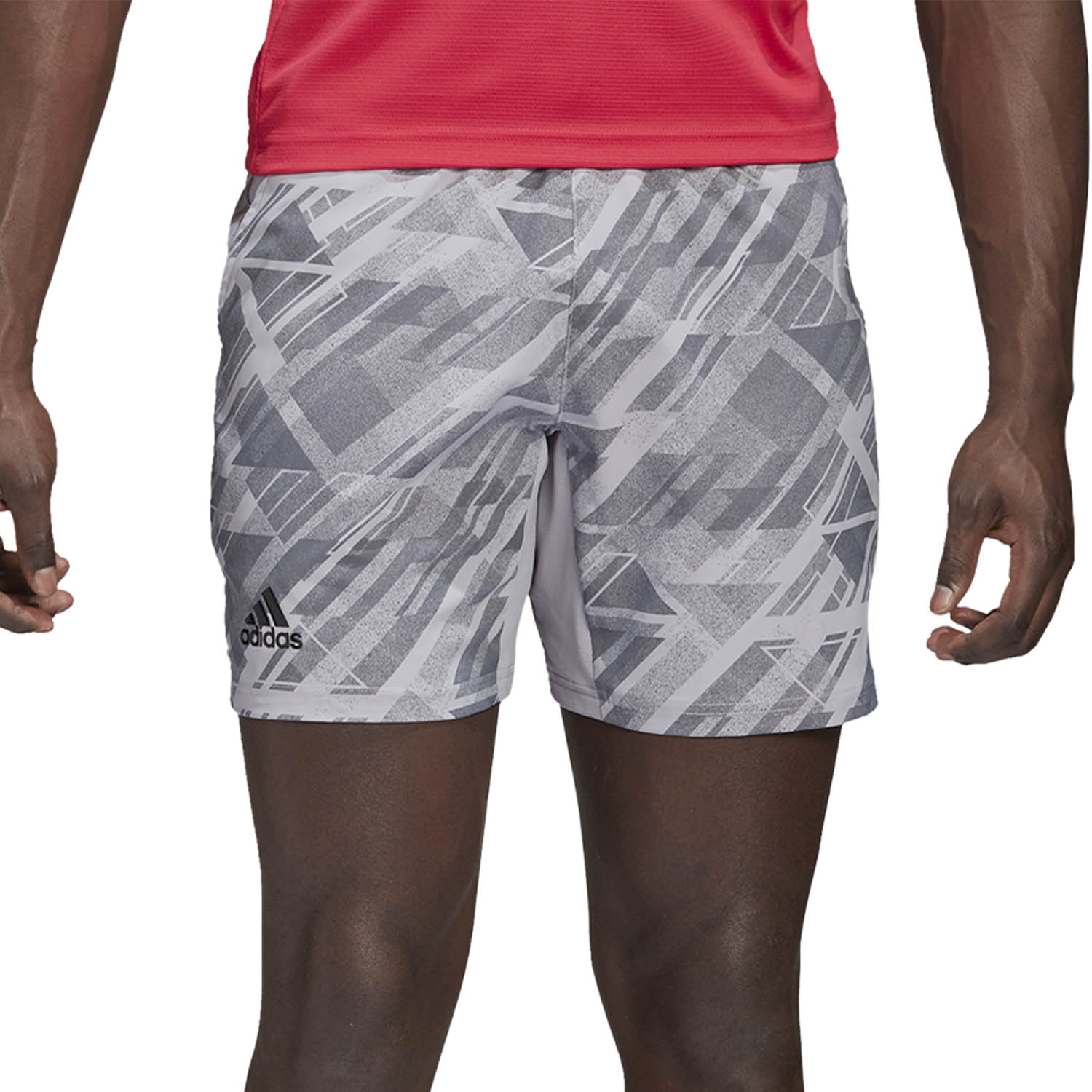 Adidas All Over 4in Shorts - Glory Grey