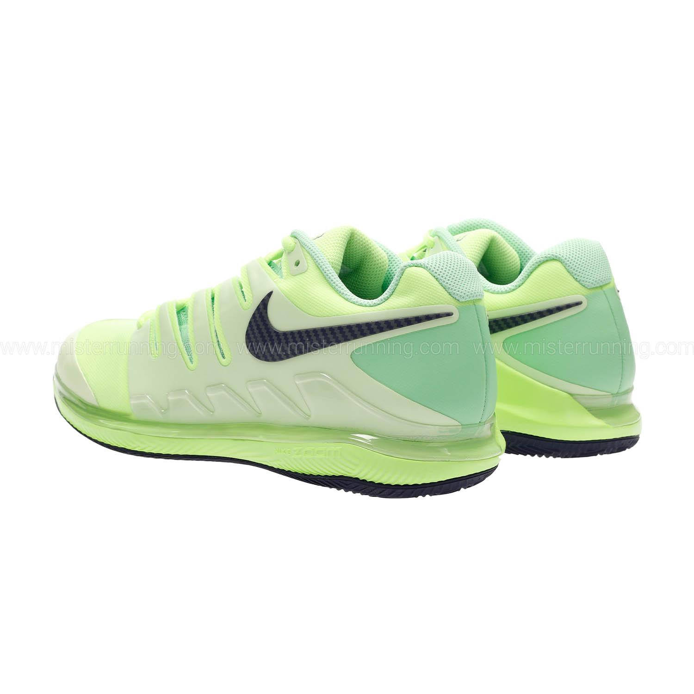 Nike Zoom Vapor X Clay Men's Tennis Shoes Ghost Green
