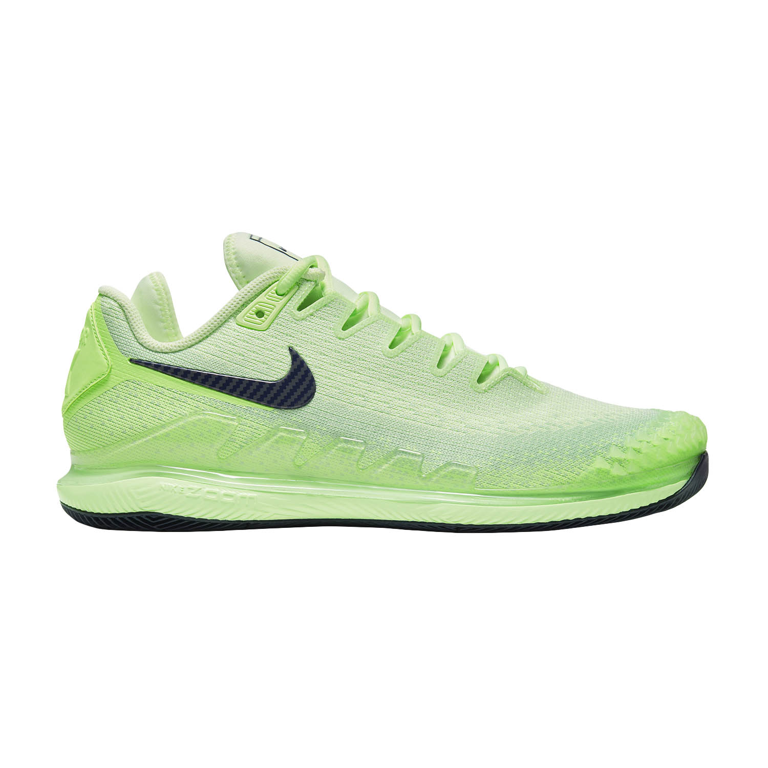Nike Air Zoom Vapor X Knit HC - Ghost Green/Blackened Blue/Barely Volt