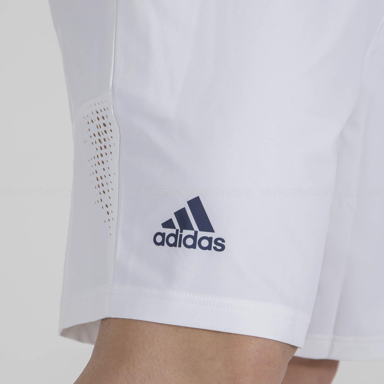 adidas Ergo Primeblue 9in Shorts - White/Crew Navy