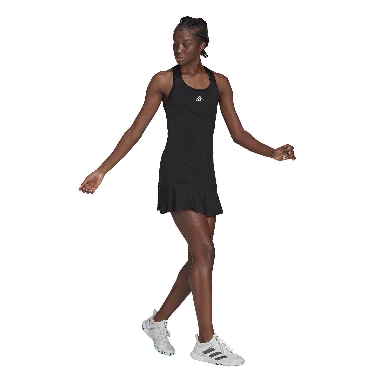 adidas Gameset Dress - Black/White