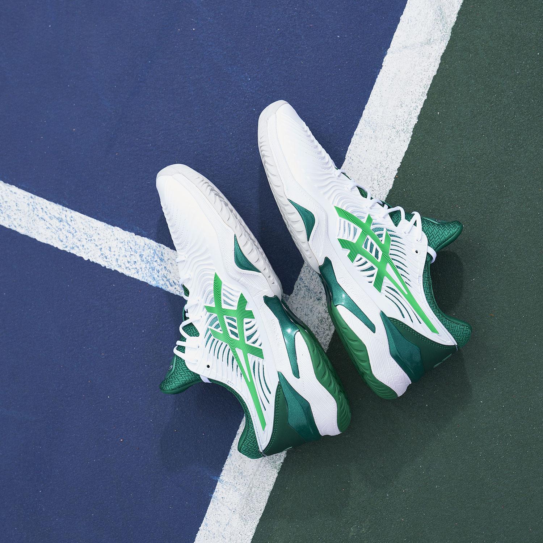 Asics Court FF Novak - White/Kale