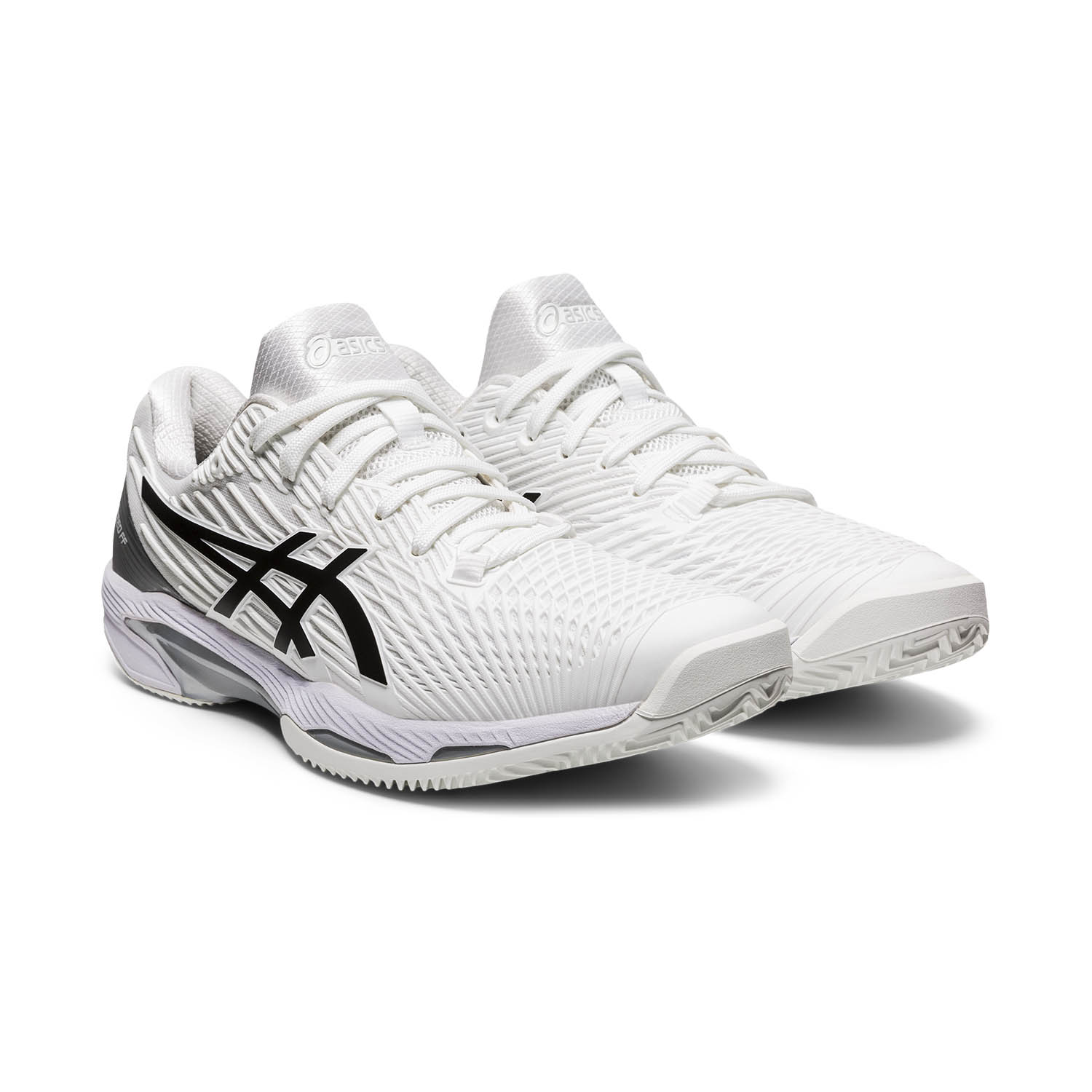 Asics Solution Speed FF 2 Clay - White/Black