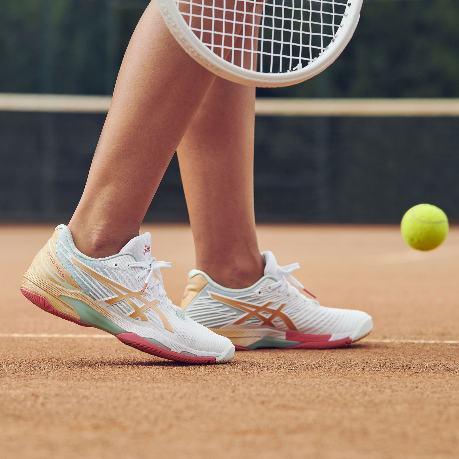 Asics Solution Speed FF 2 L.E. Clay - White/Champagne