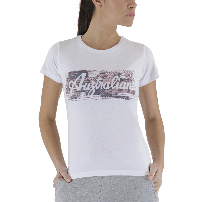 Australian Print T-Shirt - White