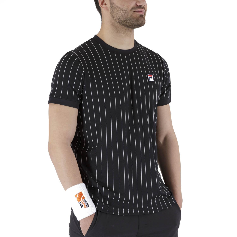Fila Stripes T-Shirt - Black/White