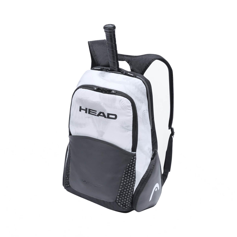 Head Djokovic Backpack - White/Black