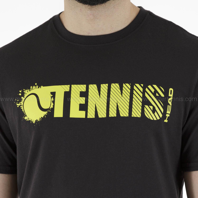 Head Font Vision T-Shirt - Black