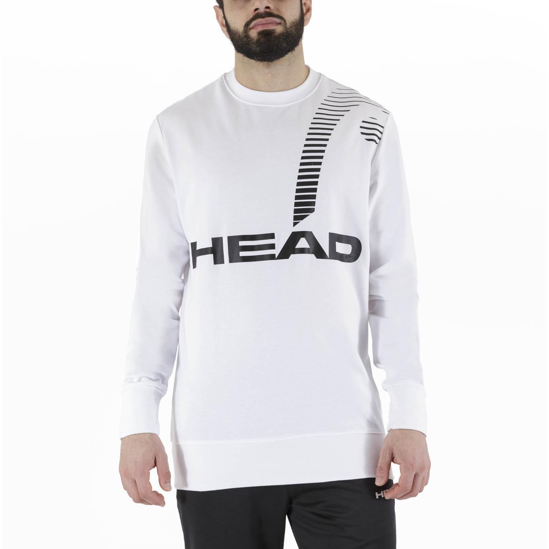 Head Rally Sweatshirt - White