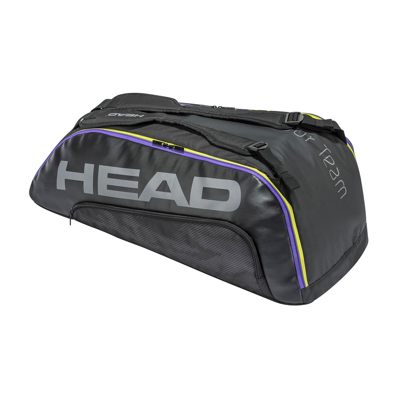 Head Tour Team x 9 Supercombi Bag - Black/Mixed