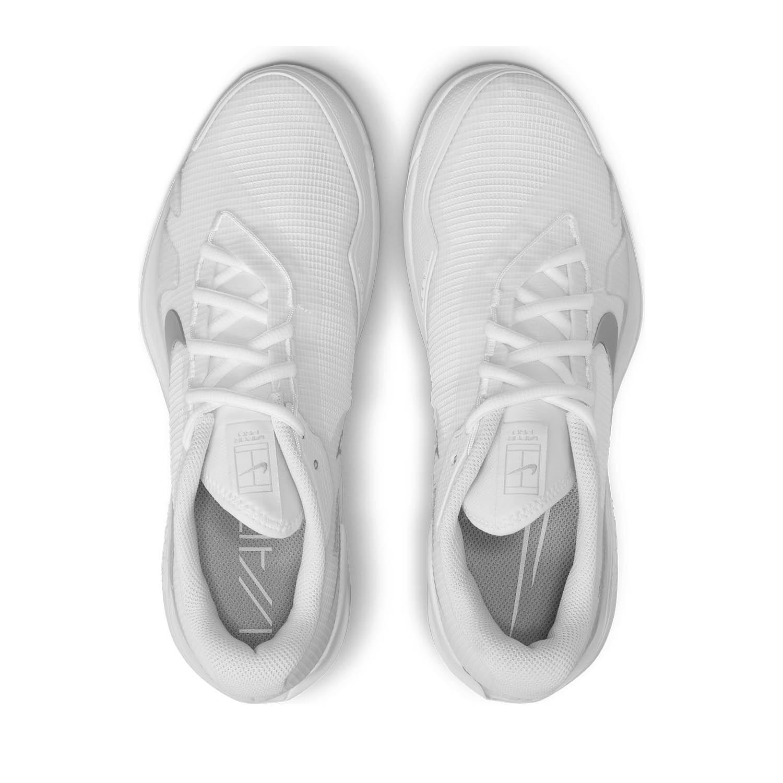 Nike Court Air Zoom Vapor Pro HC - White/Metallic Silver