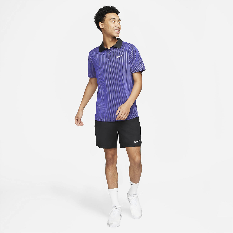 Nike Dri-FIT ADV Slam Polo - Dark Purple Dust/Black/White