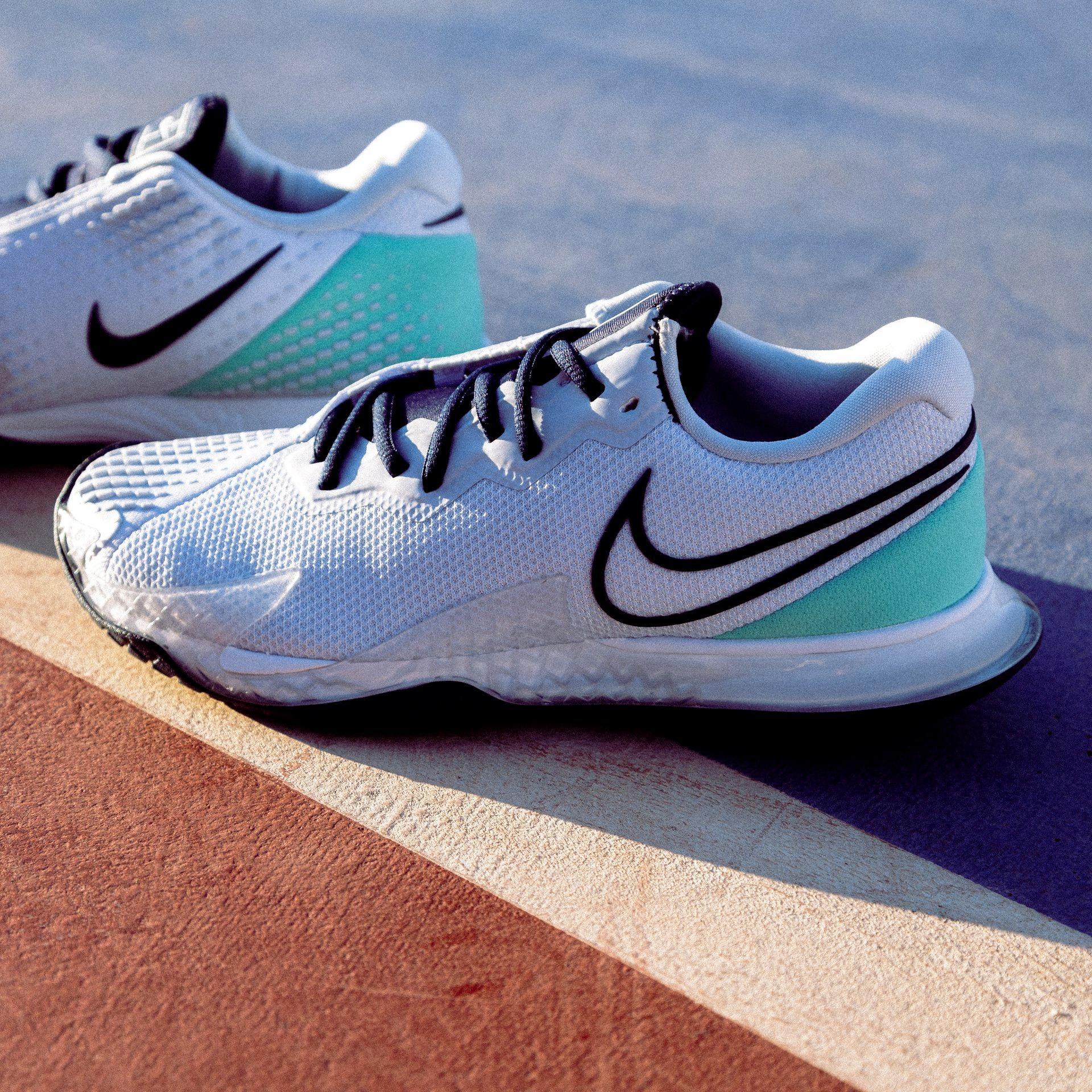 Nike Air Zoom Vapor Cage 4 Clay - Football Grey/Midnight Navy