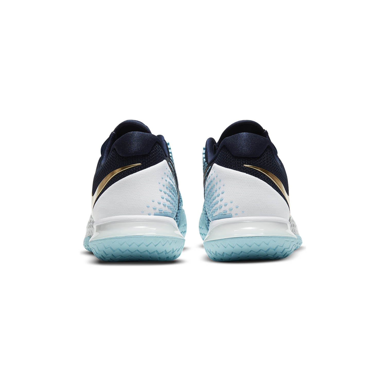 Nike Air Zoom Vapor Cage 4 HC - Obsidian/Metallic Gold/Copa/White