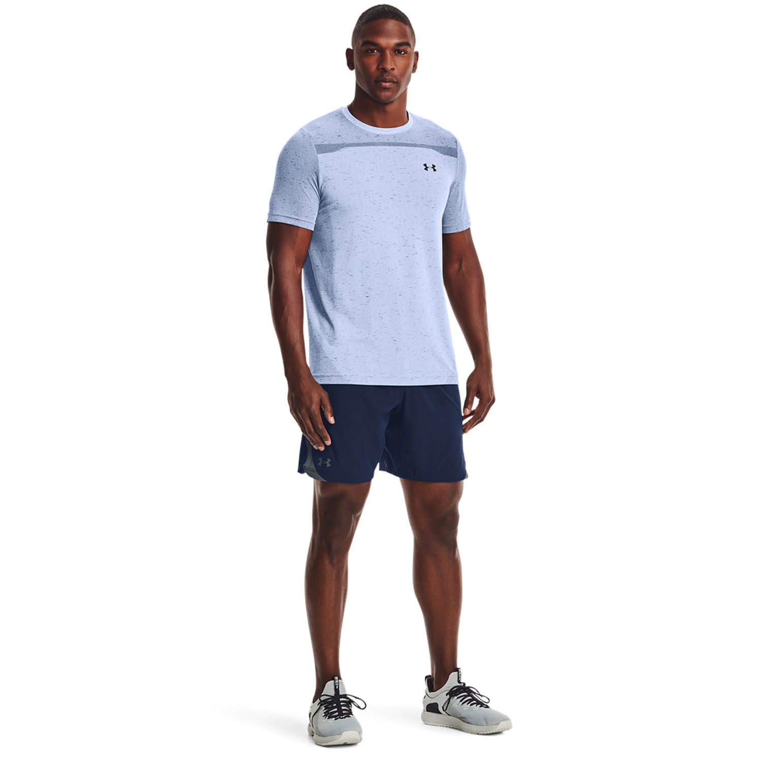 Under Armour Seamless T-Shirt - Isotope Blue