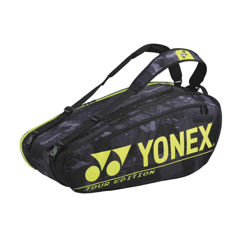 Yonex Pro Tour Edition x 9 Bag - Black/Yellow