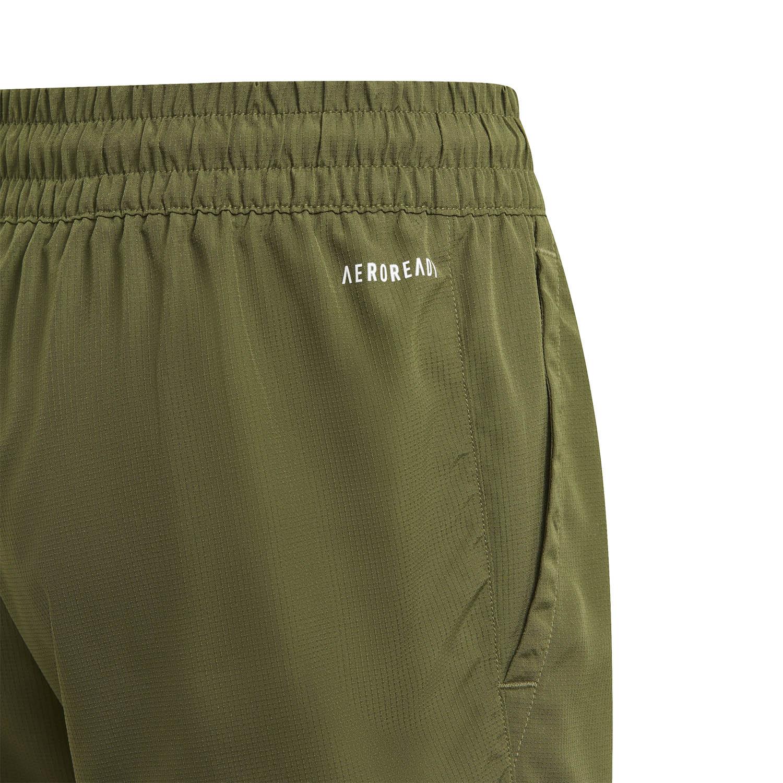 adidas Club 7in Shorts Boy - Wild Pine/White
